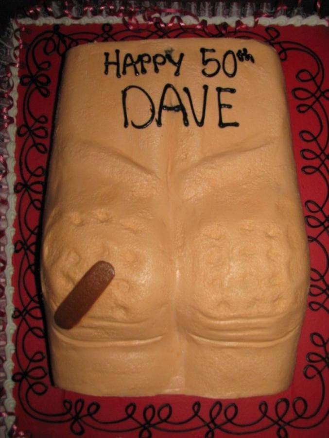 Un drôle de gâteau.