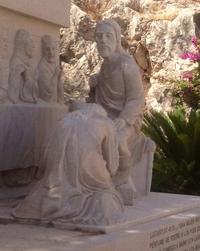 Jésus a l'air satisfait...