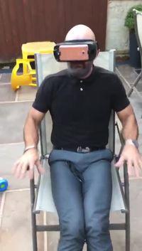 Découverte de réalité virtuelle