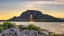 Mont Thorghatten en Norvège