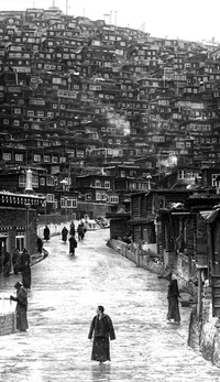 Institut bouddhiste de Larung Gar Sertar au Tibet
