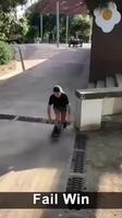 Une skateuse