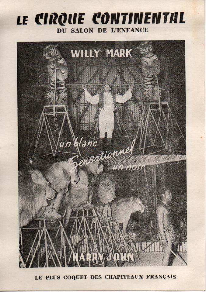 Affichette datant de 1960