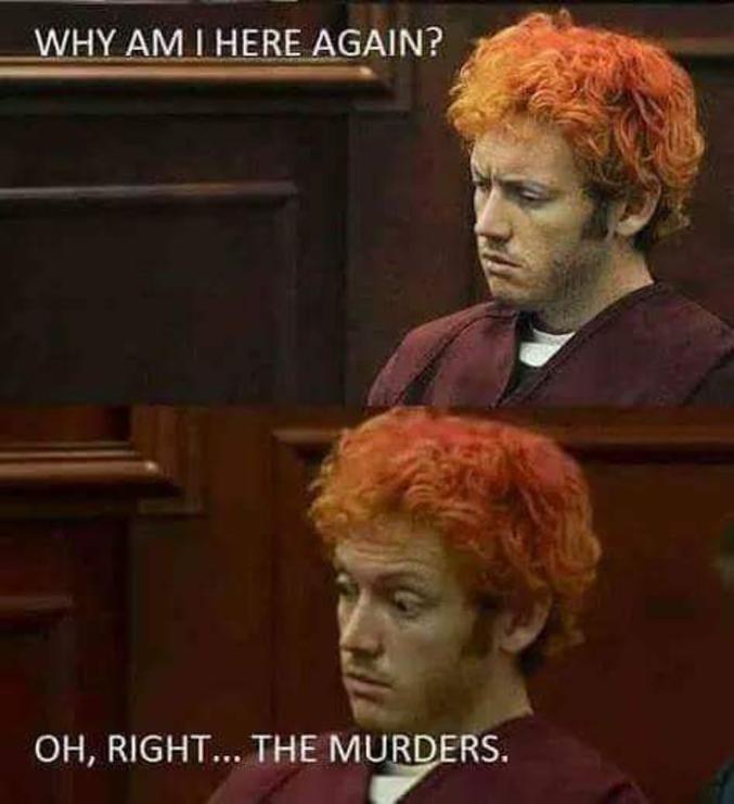 """""""Mais qu'est-ce que je fous là, déjà ? Ah, oui... Les meurtres."""""""