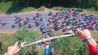 Sauter le Tour de France