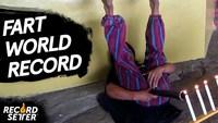 Éteindre des bougies grâce aux pets : record du monde
