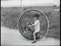 Monocycliste en 1927