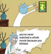 Vous n'avez jamais vu un film en entier.....