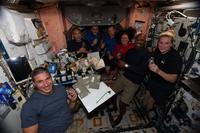 Thanksgiving 2020 dans l'ISS.