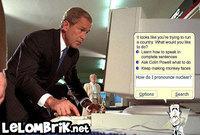 Bush sur Word