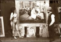 """1894: Toulouse-Lautrec finit son célèbre tableau """"Le salon de la Rose Blanche""""..."""