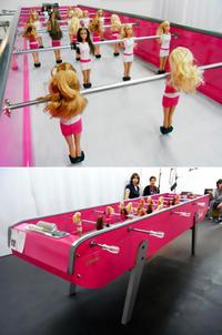 Barbie-foot