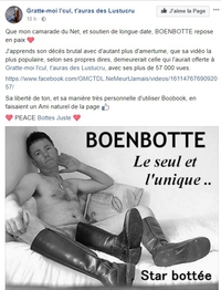 Décès de Boenbotte