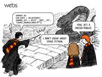 Harry Potter, ce fourche-langue