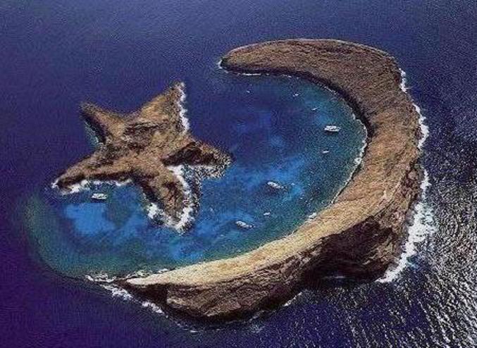Des îles aux formes poétiques