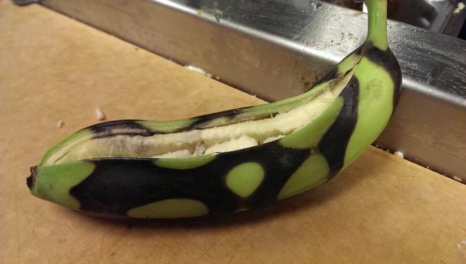 au micro-ondes ?? Oo  (sucre + beurre + rhum + des bananes et une allumette ; ce n'est pas compliqué .. et c'est vachement bon )