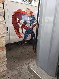 Super Héros à la pompe