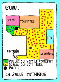 L'UBU (à Rennes) où la pire salle de France