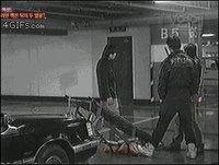 Cascadeur de parking