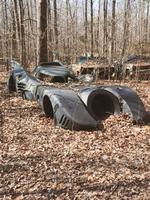 Batmobile abandonné