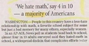 Aux USA, 40% constitue une majorité