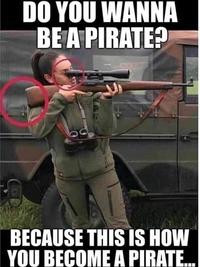 Tu veux être comme un pirate ?