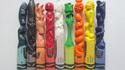 Sculpture dans le crayola : Wax nostalgic