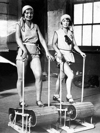 Tapis roulant  en 1920