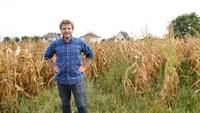 Robert, fier producteur de maïs Alsacien