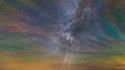 Arc-en-ciel nocturne