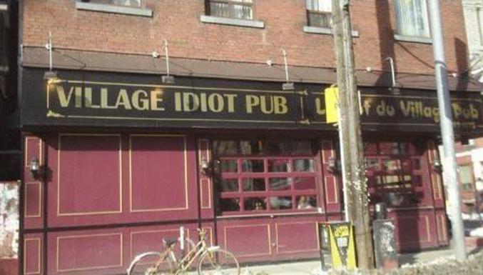 Le nom d'un pub très insolite.