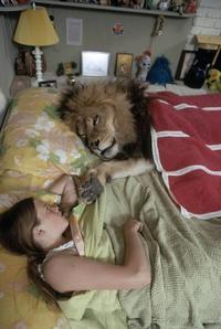 """Le jeu """"Que pourrait bien dire ..."""" n°04 : Cette fille au lion ?"""