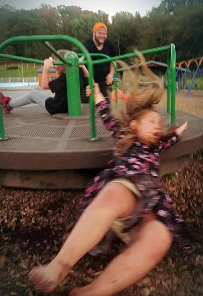 Enfant vole !