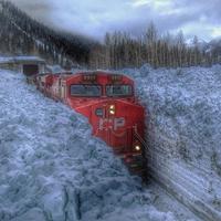 Cette année, la hauteur de neige au Canada était tout à fait acceptable !