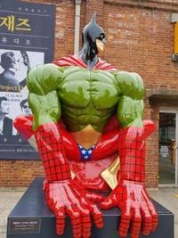 Un statue  Justice Avengers