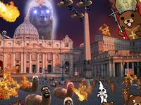 Les lamasticots envahissent le Vatican