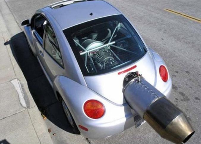 Mais non, le moteur n'est pas encombrant du tout !