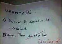 Des chocolatines