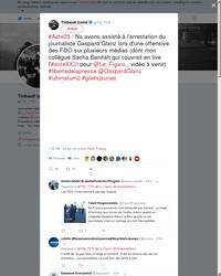 Acte XXIII + Anniversaire de Tiananmen : Macron bousille les journalistes !