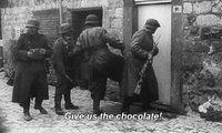 Donnez-nous le chocolat!
