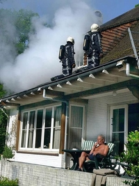 Incendie chez le voisin