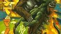 Les amours célèbres : Kan King-Kong roule une pelle à Godzilla
