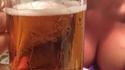 Je salive pour une bière
