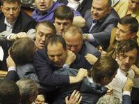 Pendant ce temps au parlement ukrainien