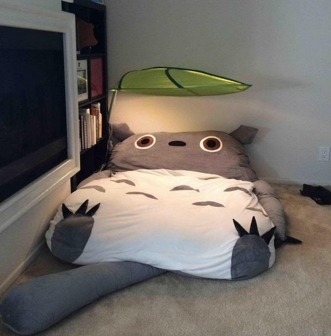 ma literie totoro. Black Bedroom Furniture Sets. Home Design Ideas