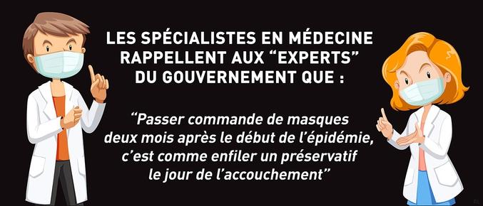 """rappellent aux """"experts"""" du gouvernement"""