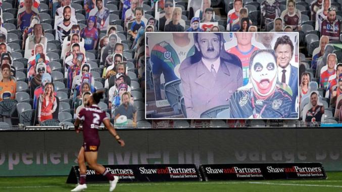 Quand un petit malin insère l'image d'Hitler dans les figurines de spectateurs https://fr.timesofisrael.com/australie-un-match-de-rugby-avec-hitler-et-un-meurtrier-parmi-les-supporters/
