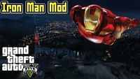 GTA 5 - Mod Iron-Man