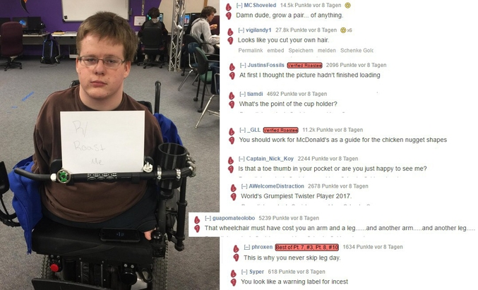 Un homme en situation de handicap se fait démembrer.