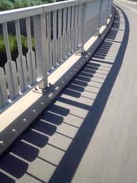 Des ombres en touches de piano